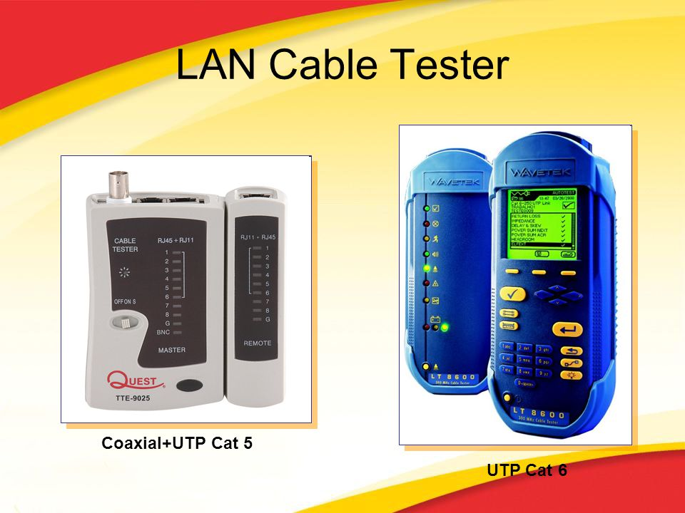 LAN Cable Tester Coaxial+UTP Cat 5 UTP Cat 6
