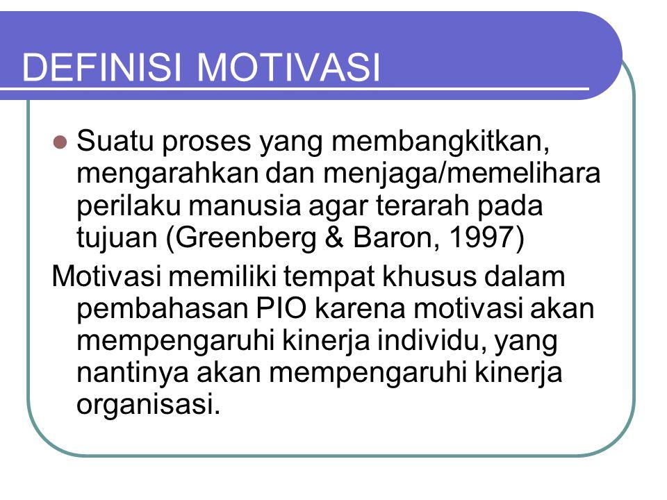 3 komponen motivasi 1.Arousal, sesuatu yang membangkitkan.
