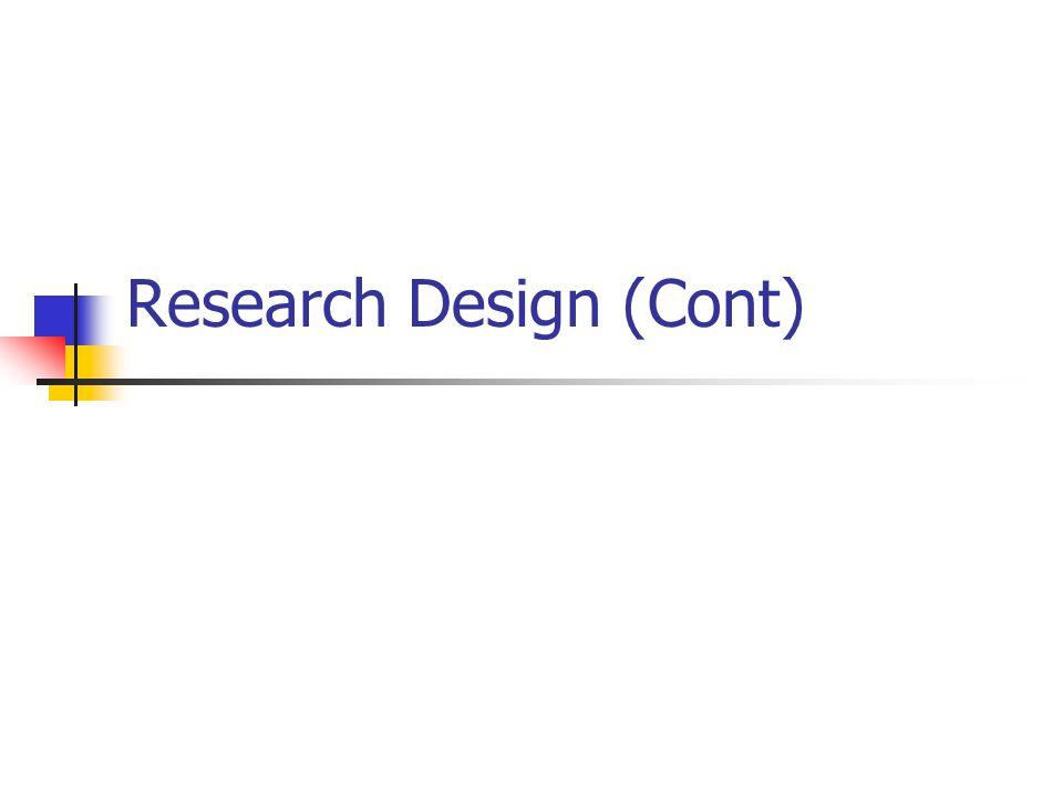 Jenis Perancangan Riset Jenis perancangan mana yg akan digunakan .