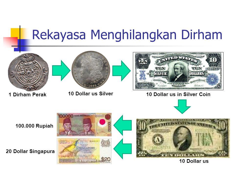Rekayasa Menghilangkan Dinar 1 Dinar Emas 10 Dollar Gold 10 Dollar in Gold Coin Nota-nota dan sertifikat emas mulai ditarik dari peredaran pada akhir