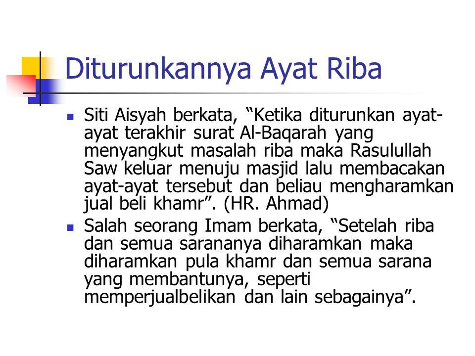 """Al 'ilmu qablal qaulu wal amal (Ilmu itu sebelum perkataan dan perbuatan) Allah Swt berfirman, """"Orang-orang yang makan (mengambil) riba tidak dapat be"""