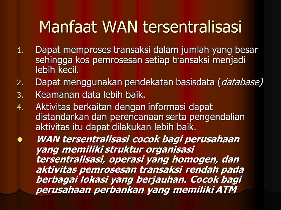 Manfaat WAN tersentralisasi 1.