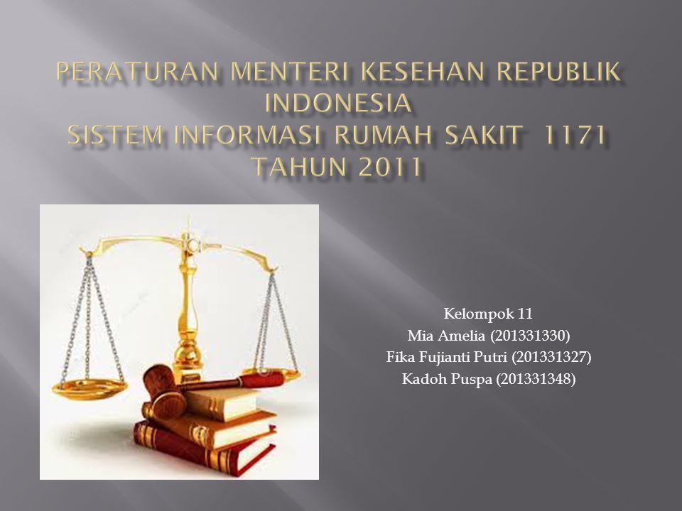 Kelompok 11 Mia Amelia (201331330) Fika Fujianti Putri (201331327) Kadoh Puspa (201331348)