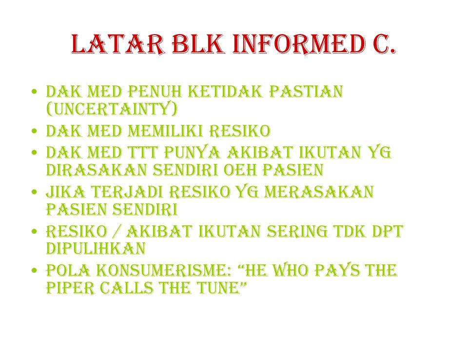 Latar blk informed c.