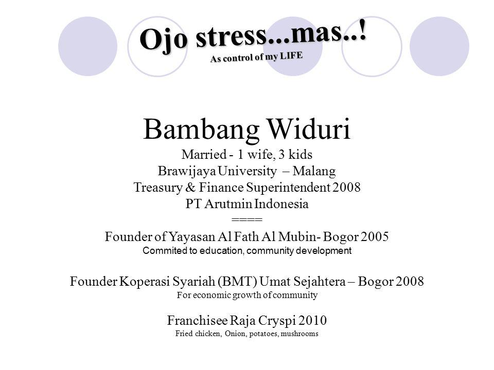 Ojo stress...mas...
