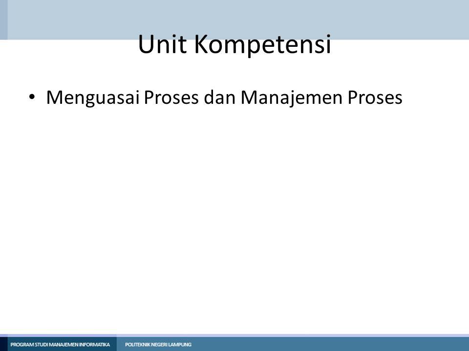 Elemen Kompetensi Menguasai Proses dan Manajemen Proses di Linux