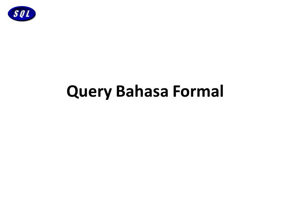 Query Bahasa Formal