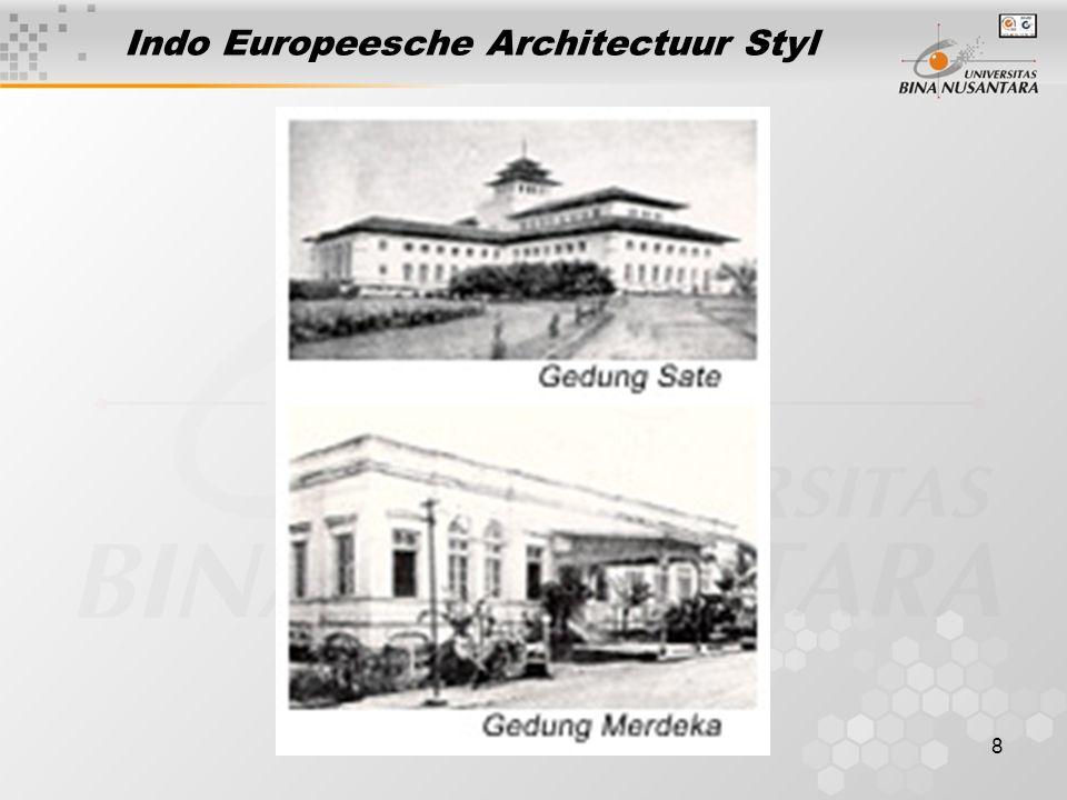 8 Indo Europeesche Architectuur Styl