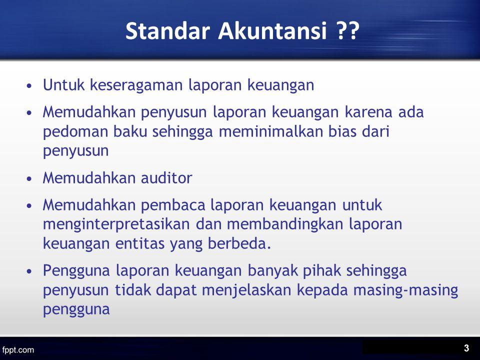 Penyajian Laporan Keuangan Identifikasi secara jelas setiap komponen laporan keuangan.