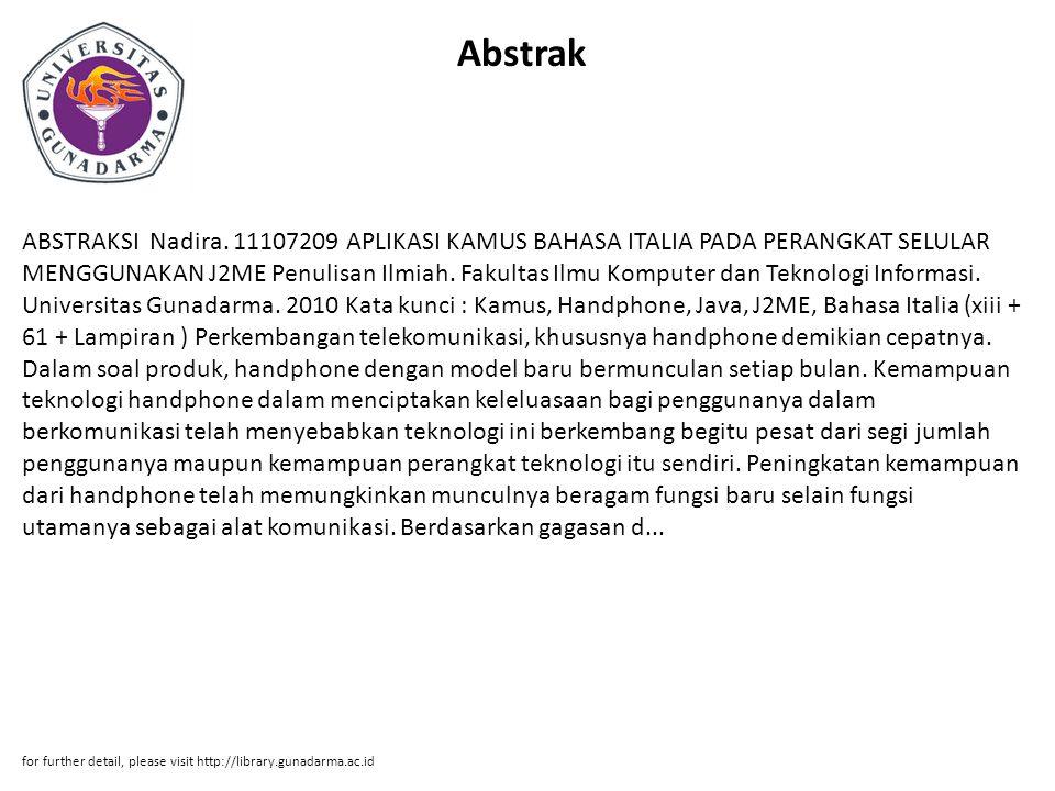 Abstrak ABSTRAKSI Nadira.