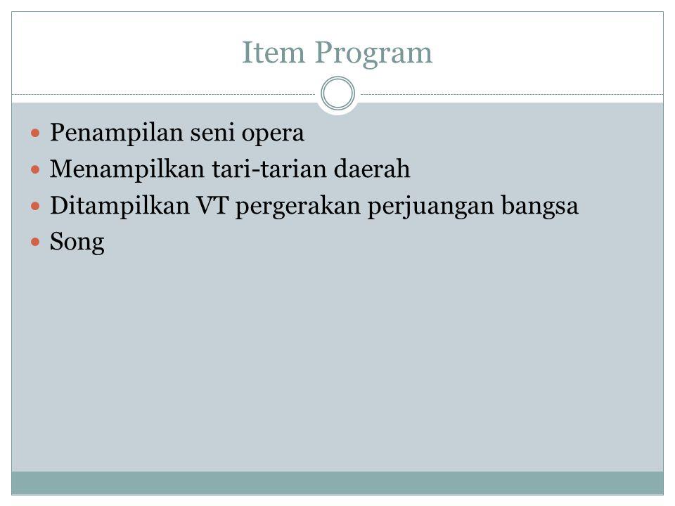 ARTIST Host: 1.Arief poconggg 2. Cici Panda Main Artist Opera: 1.