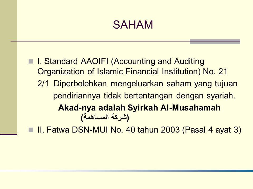 SAHAM I.