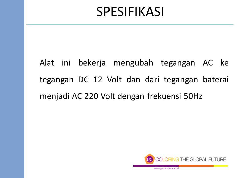V = Jumlah kotak (peak to peak) × Volt / div V = 3 × 2 Volt/Div = 6 Vpp.