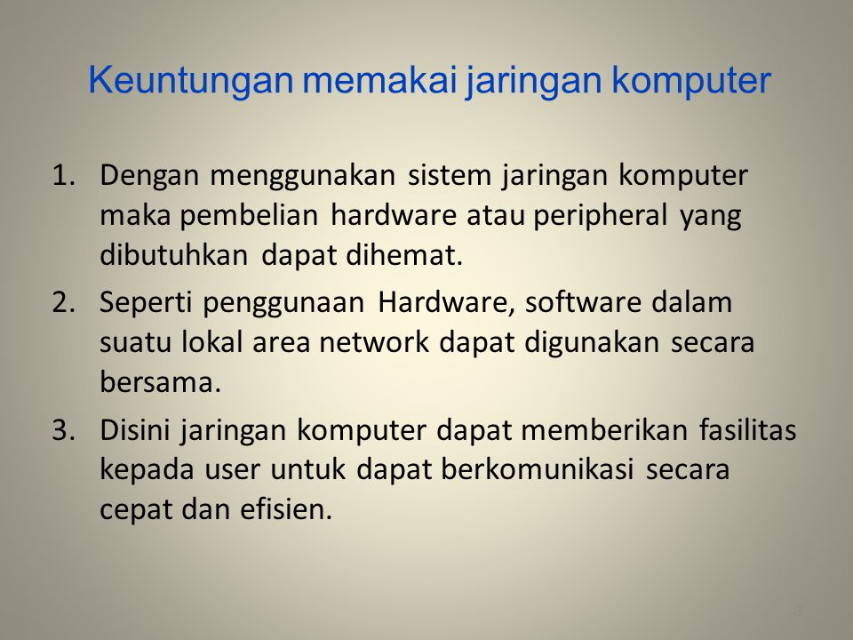 TIGA ELEMEN KOMUNIKASI DATA 4 Sumber Penerima Media Transmisi Transmisi Data : 1.Media Transmisi ( Kabel, Satellite System, Laser System ) 2.Kapasitas Channel Transmisi ( Voice Band, Wideband ) 3.Tipe Channel Transmisi ( One-Way, Either-Way, Both-Way ) 4.Kode Transmisi ( ASCII code, SBCDIC code ) 5.Mode Transmisi ( Serial, Synchronous, Asynchronous ) 6.Protocol : suatu kumpulan dari aturan yang berhubungan dengan komunikasi data.