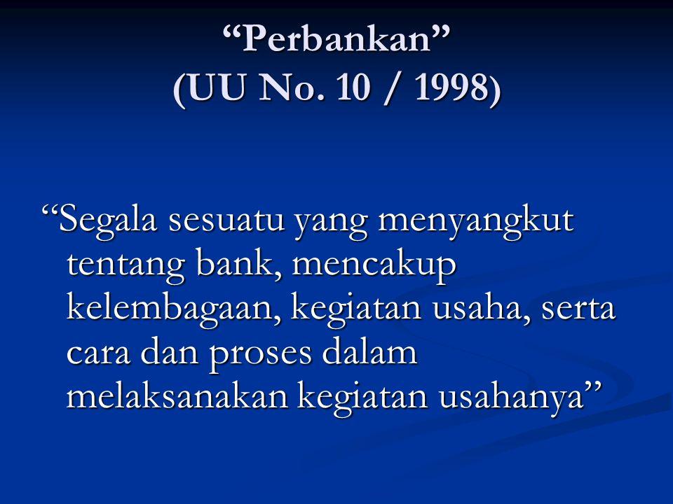 Perbankan (UU No.