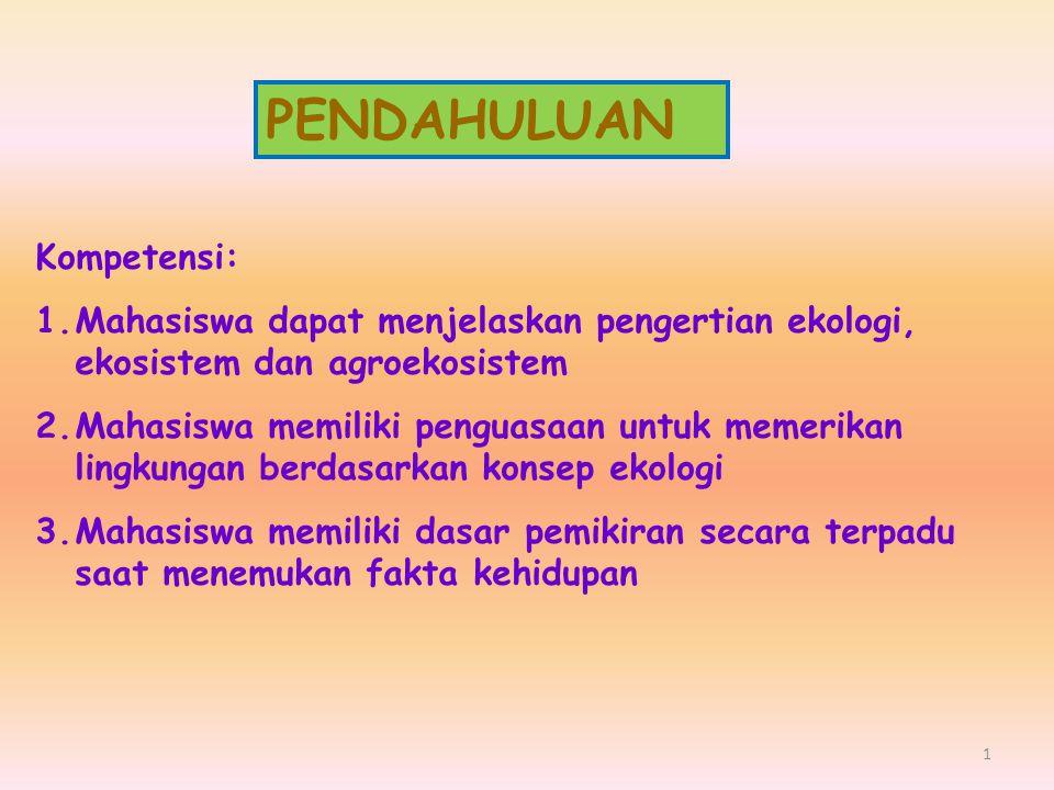 PRODUSEN KONS I (HERB) KONS II (KARNI) KONS III (OMNI) DEKOMPOSER, TRANSFORMER BAHAN/ MATERI (NUTRISI) MATAHARI Siklus materi Arus energi RANTAI MAKANAN: TRANSFER ENERGI DAN MATERI MELALUI SERANGKAIAN ORGANISME HUBUNGAN ANTAR KOMPONEN DALAM EKOSISTEM 12