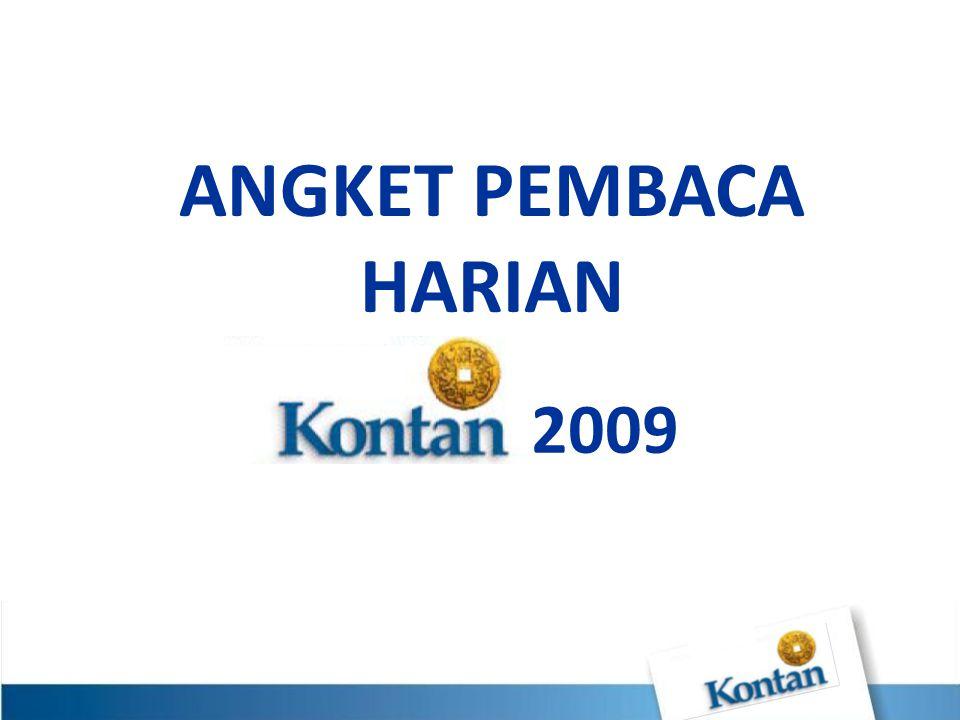 ANGKET PEMBACA HARIAN 2009