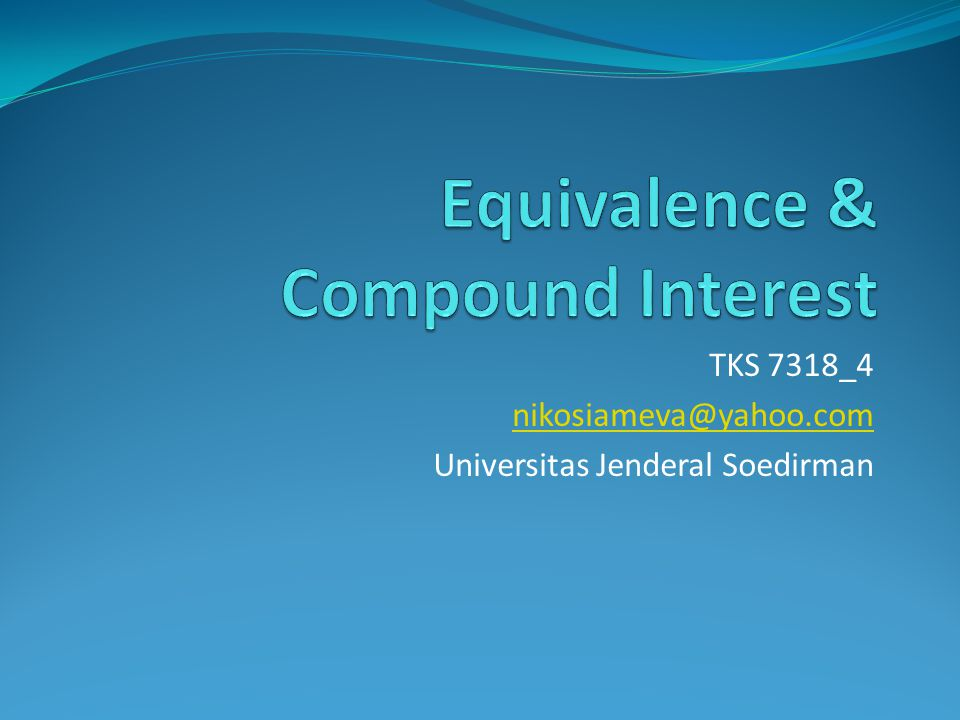 TKS 7318_4 nikosiameva@yahoo.com Universitas Jenderal Soedirman