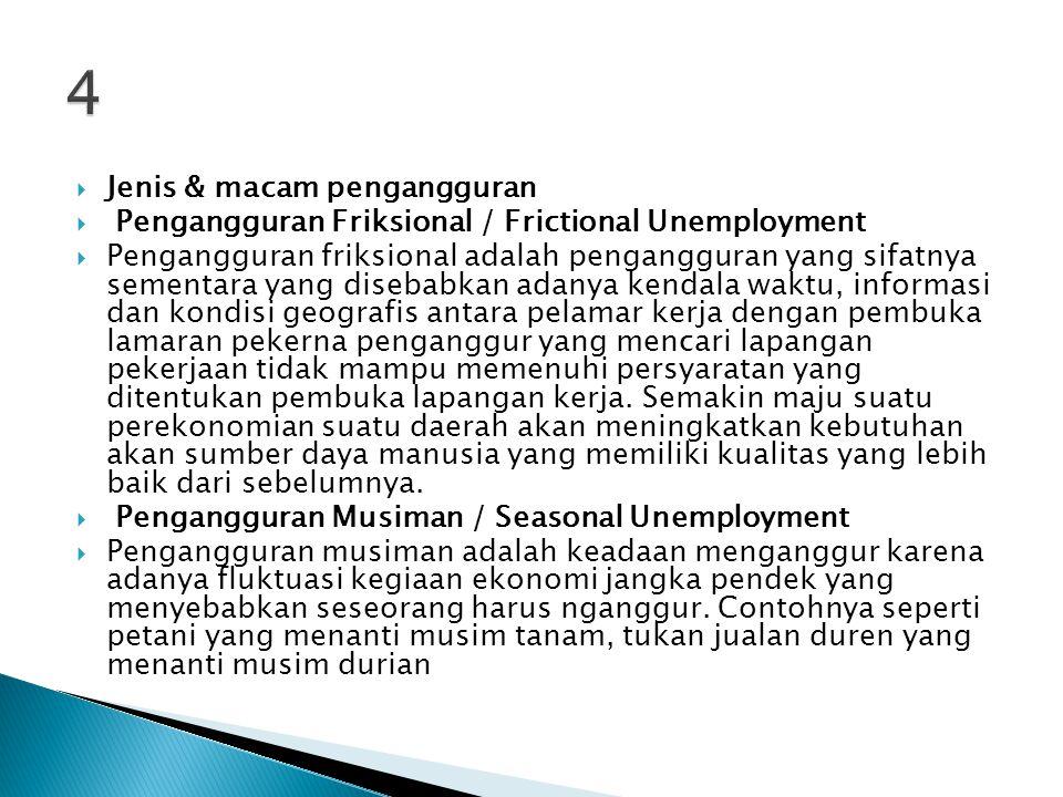  Dengan  memiliki pekerjaan seseorang merasa memiliki harga diri baik di depan istri dan  anak-anak atau keluarga besar maupun di masyarakat.