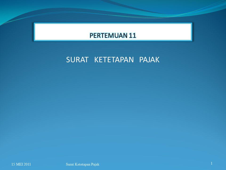 Surat Ketetapan Pajak PERLAKUAN PEMERIKSAAN THD BUKTI PERMULAAN TINDAK PIDANA Pasal 17B ayat (1a) KETENTUAN SBGMN DIMAKSUD PADA AYAT (1) TIDAK BERLAKU TERHADAP WAJIB PAJAK YANG SEDANG DILAKUKAN PEMERIKSAAN BUKTI PERMULAAN DI BIDANG PERPAJAKAN, KETENTUANNYA DIATUR DENGAN ATAU BERDASARKAN PERATURAN MENTERI KEUANGAN.