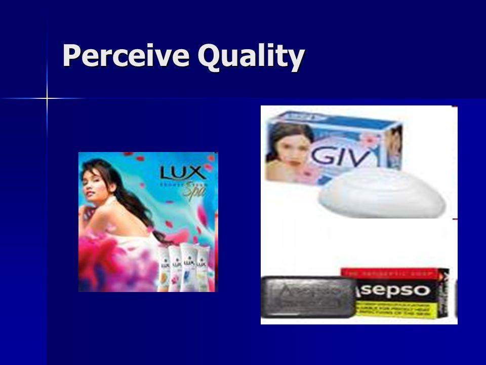 Perceive Quality