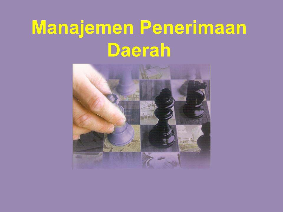 Manajemen Penerimaan Daerah