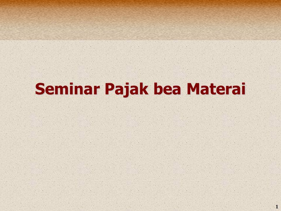 1 Seminar Pajak bea Materai