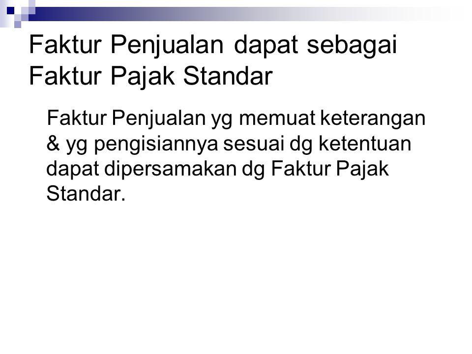 PM yg Tidak Dapat Dikreditkan ( Pasal 9 & Pasal 16B UU PPN ) PM yg dibayar sebelum Pengusaha dikukuhkan sebagai PKP PM atas perolehan BKP atau Jasa Kena pajak yg tidak berhubungan langsung dg kegiatan usaha.