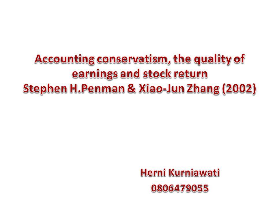  Q-score digunakan untuk menganalisis adanya pengaruh sementara terhadap earnings.