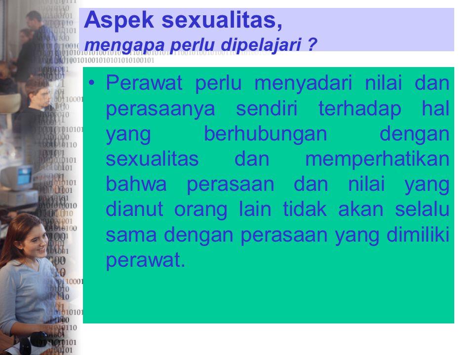 . Identitas gender sangat berkaitan dengan aspek psikologis yaitu bagaimana seseorang merasa tentram dengan identitas sexualnya dan bagaimana seseoran