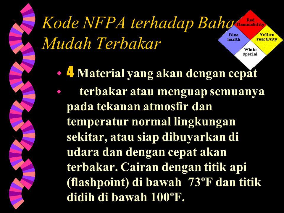 Label NFPA.. Tujuan dari sistem pelabelan NFPA 704 adalah untuk menyediakan suatu cara yang cepat untuk mengidentifikasikan berbagai jenis bahaya keba