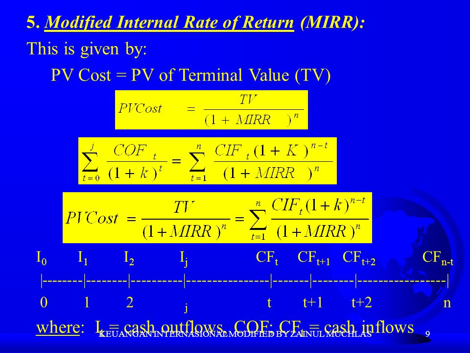 20 Lessard (1981) extends this approach to deal with foreign investment projects as follows: APV= -PV of capital outlays +PV of remittable after tax operating cash flows +PV of tax savings from depreciation +PV of financial subsidies +PV of other tax savings +PV of extra (indirect) remittances +PV of project's contribution to corporate debt capacity +PV of residual plant and equipment (salvage) F Multinational Capital Budgeting Examples.