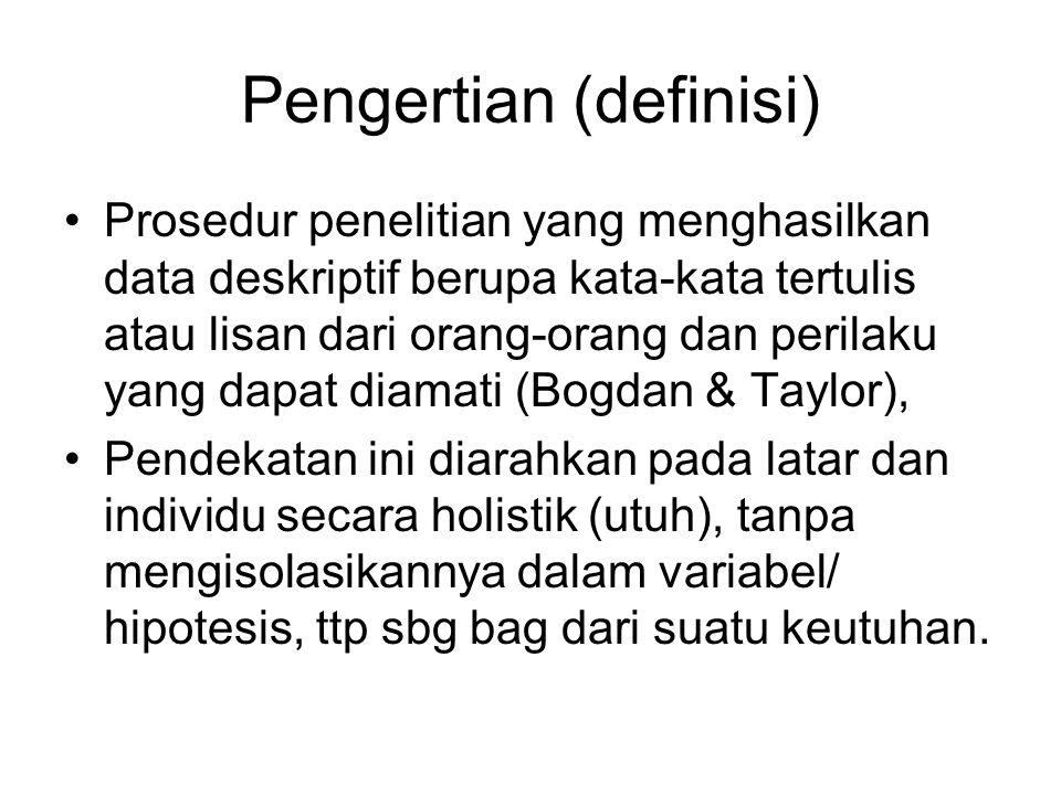 Karakteristik Penel.Kualitatif 1.