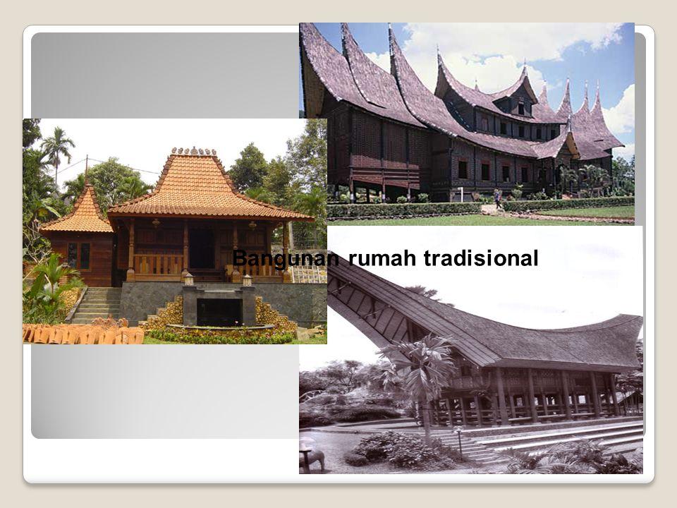 Bangunan rumah tradisional