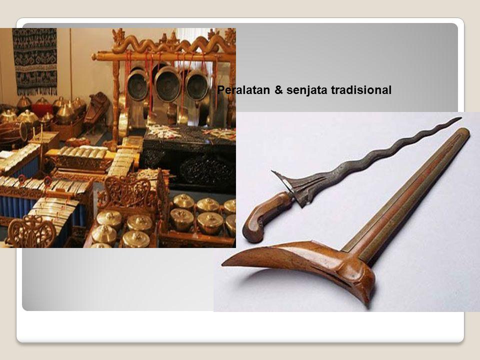 Peralatan & senjata tradisional
