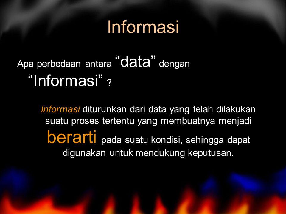 Pemodelan suatu bentuk penyederhanaan dari sebuah elemen dan komponen yang sangat komplek untuk memudahkan pemahaman dari informasi yang dibutuhkan.