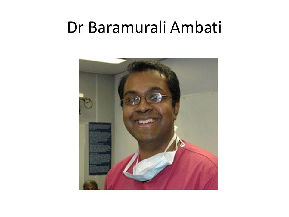 Dr Baramurali Ambati