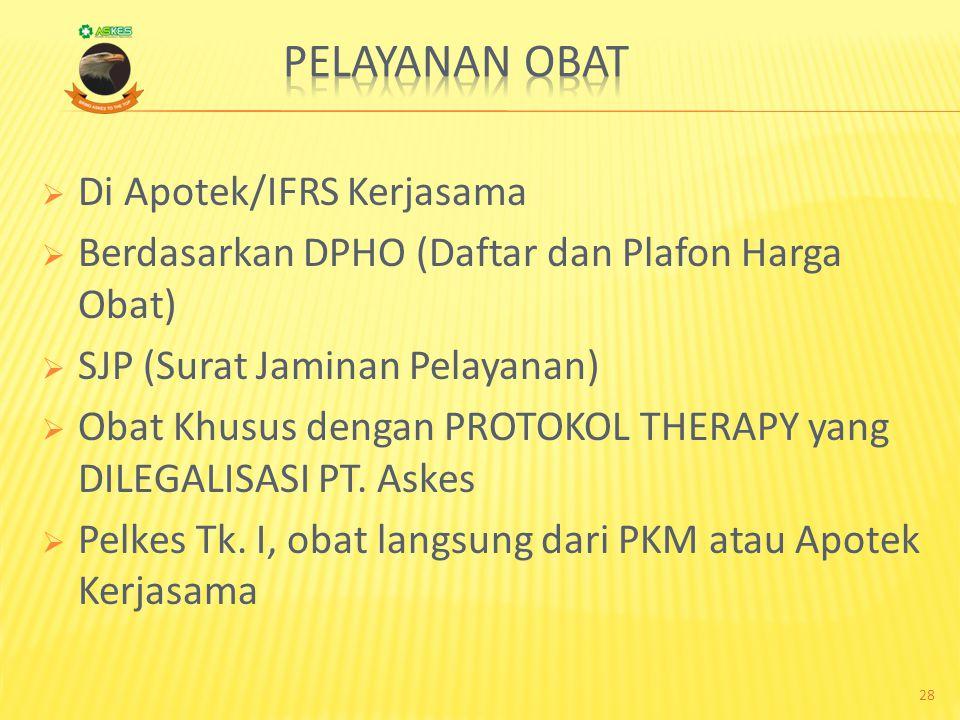 TRANFUSI DARAH  DARI UPTD/PMI Surat permintaan darah dari dokter yang merawat yang dilegalisasi oleh PT. Askes FC. Kartu Askes