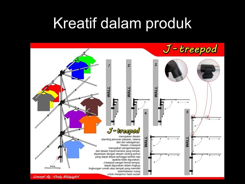 Kreatif dalam produk