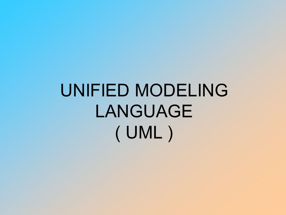 UML UML merupakan bahasa standar untuk memvisualisasikan, menspesifikasikan, mengkonstruksikan, dan mendokumentasikan pengembangan sistem perangkat lunak yang intensif UML kombinasi dari : –Konsep Data Modeling (Entity Relationship Diagrams) –Business Modeling –Object Modeling –Component Modeling