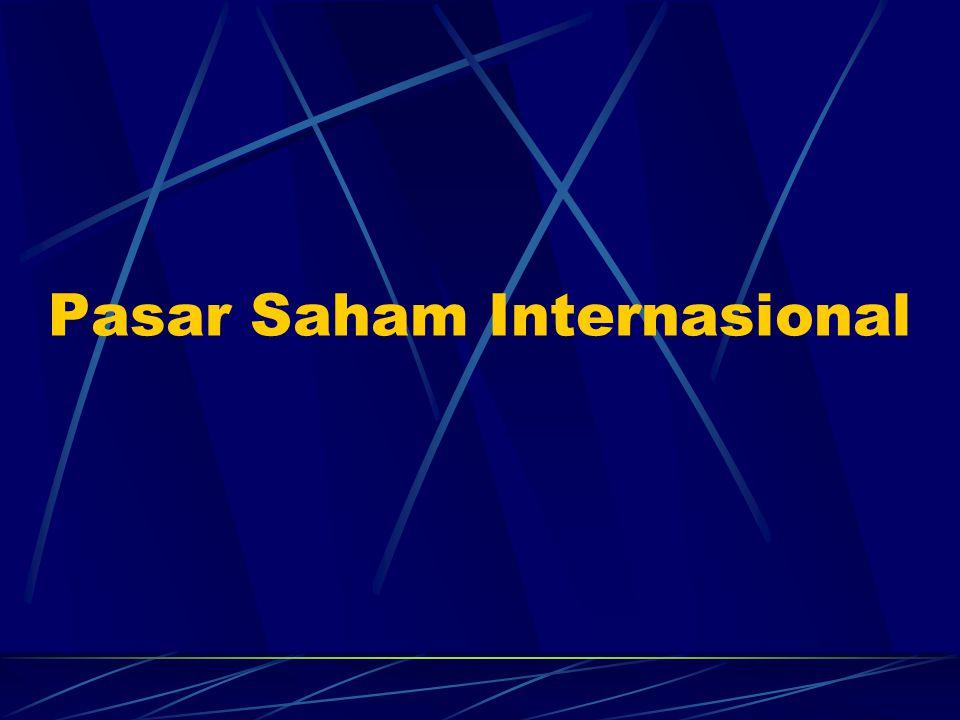 Pasar Saham Internasional