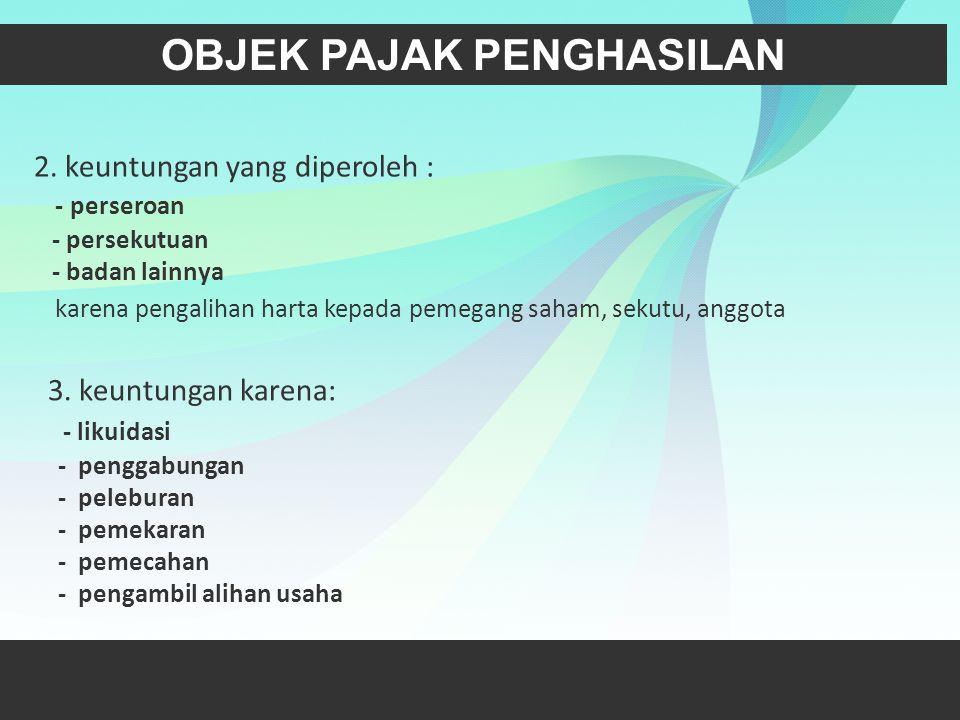 l.Beasiswa yang memenuhi persyaratan tertentu yang ketentuannya diatur lebih lanjut dengan atau berdasarkan Peraturan Menteri Keuangan (PMK 246/PMK.03/2008).