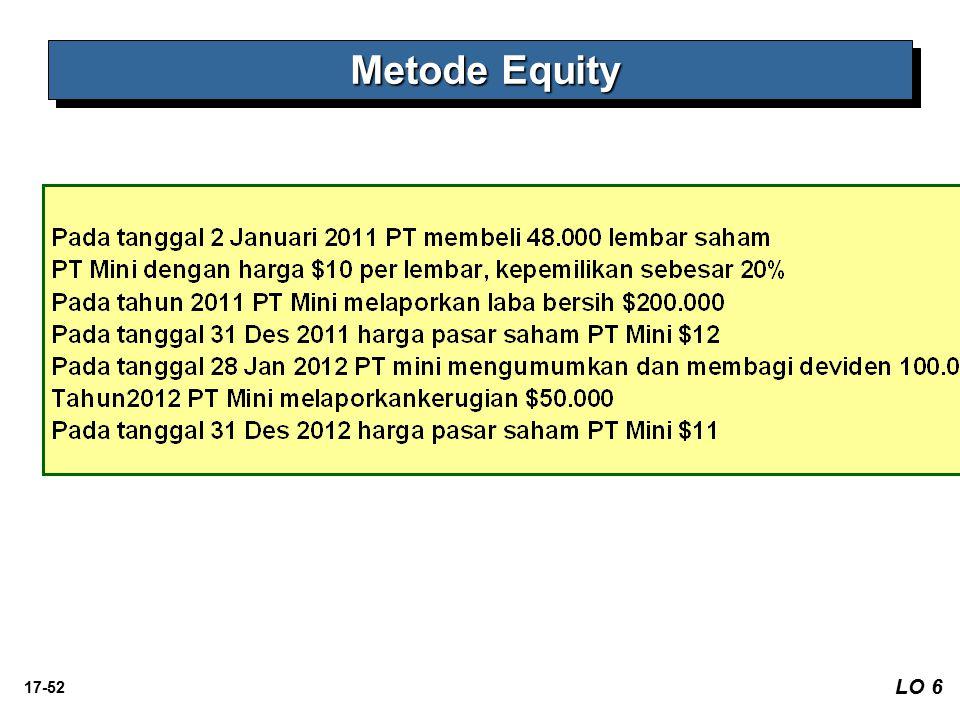 17-52 LO 6 Metode Equity