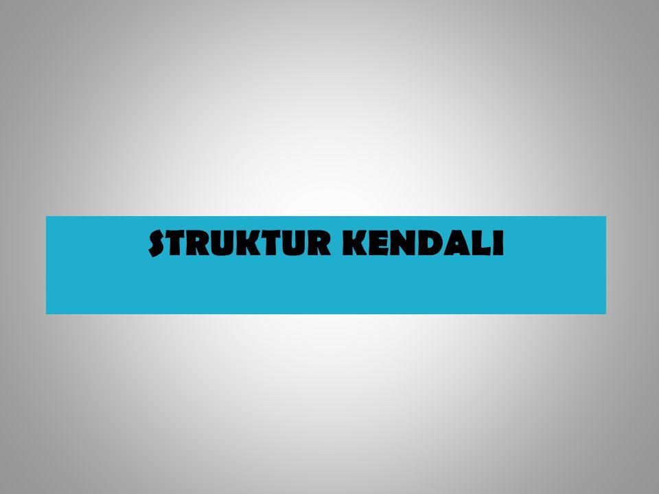 STRUKTUR KENDALI