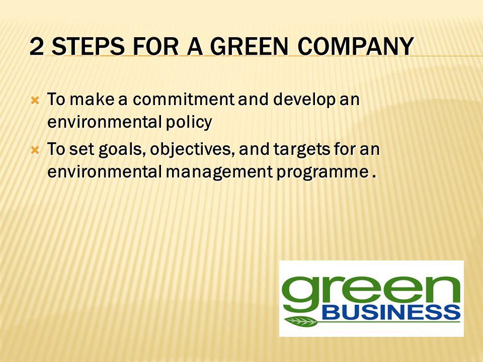  Konsisten, lakukan apa yang telah anda kampanyekan dan pastikan bahwa bisnis anda benar-benar ramah lingkungan.