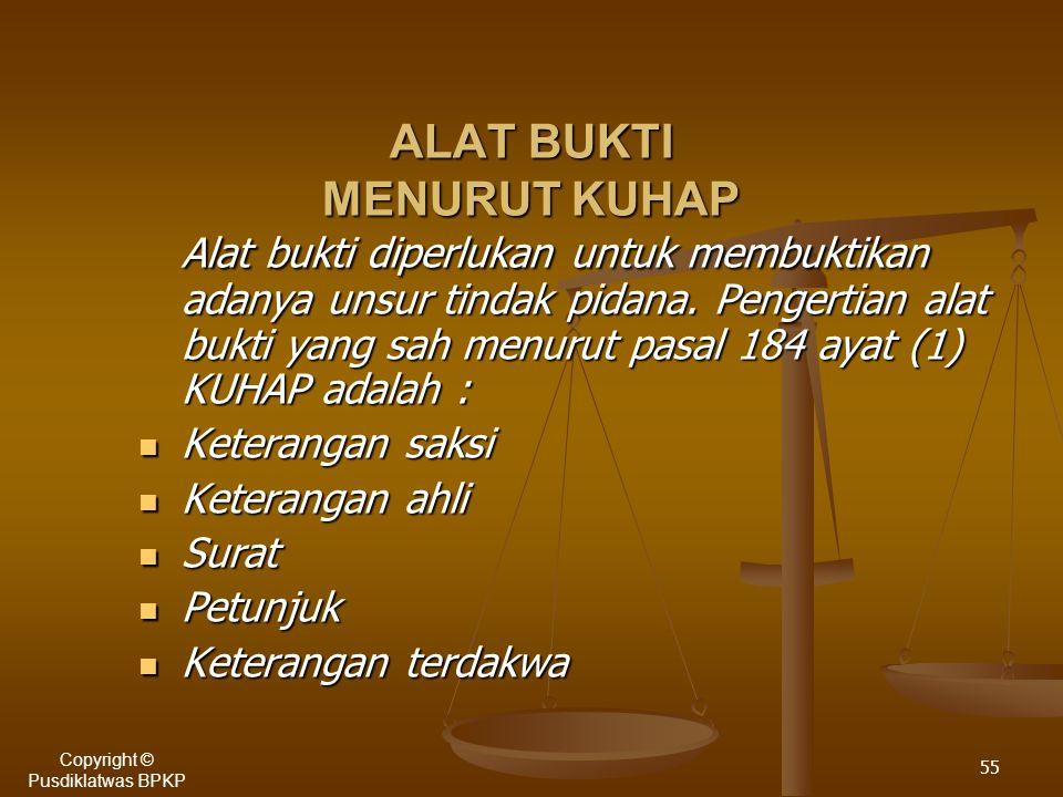 54 SISTEM PEMBUKTIAN MENURUT KUHAP.Sistem pembuktian berdasarkan Keyakinan Hakim.