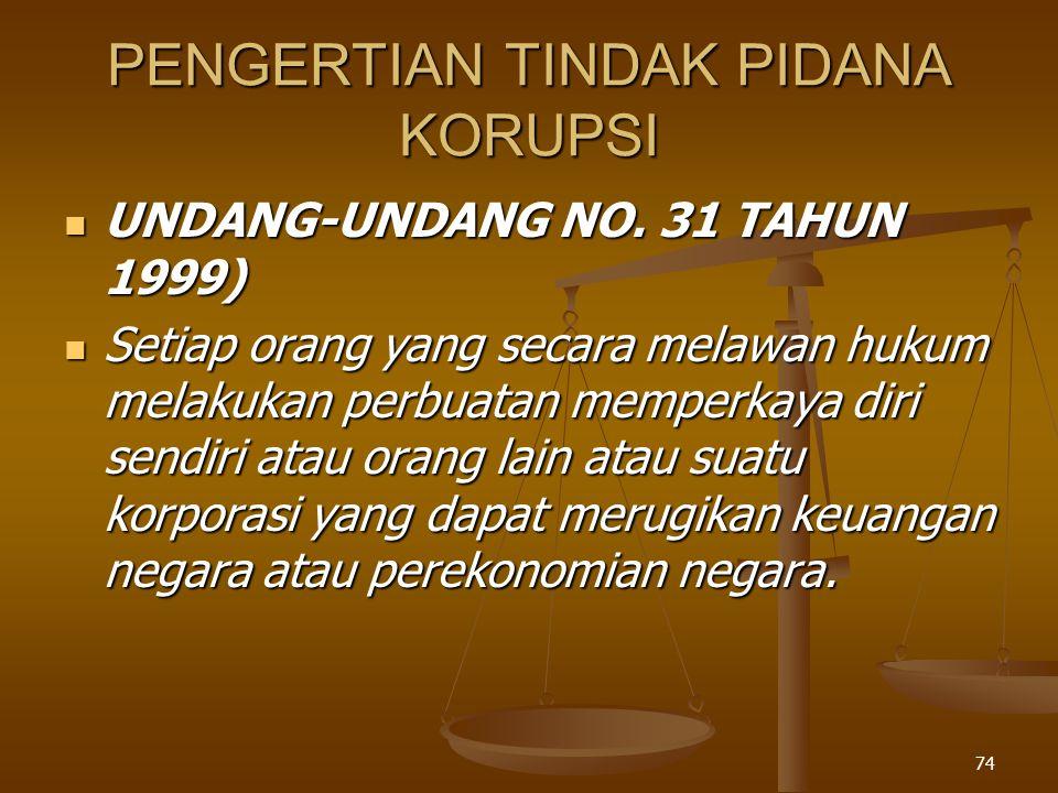 73 Hukum Pidana Hukum Pidana Apabila terjadi tindak pidana, maka negara dapat menuntut untuk diadili di peradilan umum.