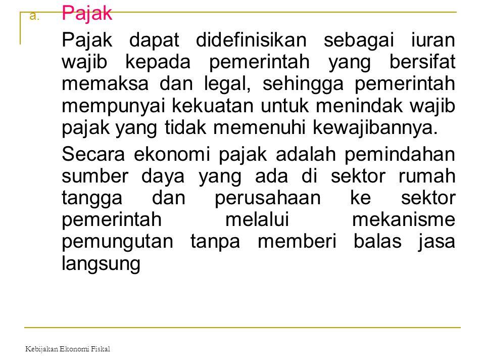 Klasifikasi pajak 1.