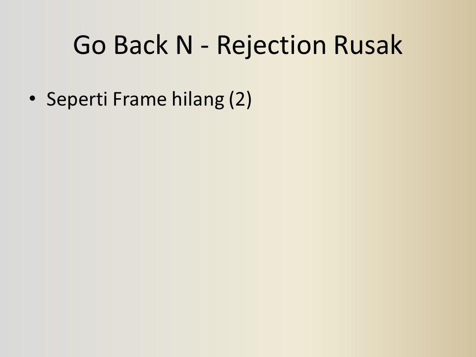Go Back N - Rejection Rusak Seperti Frame hilang (2)