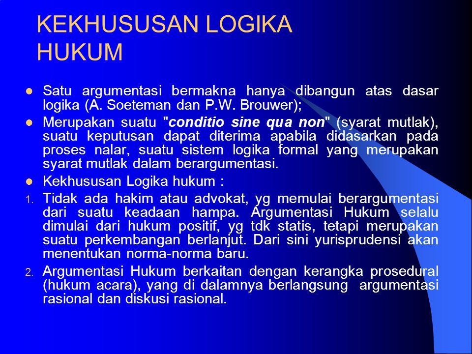 Lanjutan 3. Argumentum ad Hominem (AAH): menolak / menerima argumen tidak didasarkan pd buruknya penalaran, tapi lebih disebabkan keadaan pribadi yg m